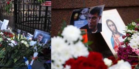 Немцовын дурсгалд зориулсан жагсаалд 50 мянга гаруй хүн оролцжээ