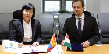 Голомт банк, Монгол Унгарын бизнес эрхлэгчдийн харилцааг шинэ шатанд гаргана
