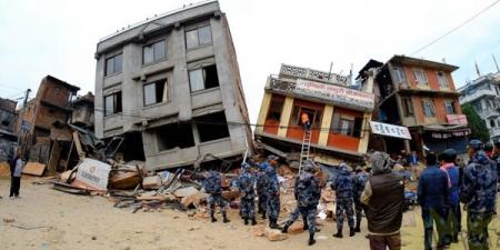 Непалд болсон газар хөдлөлтийн гамшиг
