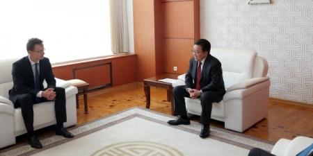 Монгол Улсын Ерөнхийлөгч Ц.Элбэгдорж Унгар Улсын Гадаад хэрэг, худалдааны сайдыг хүлээн авч уулзлаа