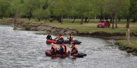 Урсгал усанд эрэн хайх, аврах ажиллагааны дадлага сургууль үргэлжилж байна