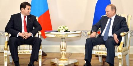 Ерөнхий сайд Ч.Сайханбилэг ОХУ-ын Ерөнхийлөгч В.В.Путинд бараалхлаа