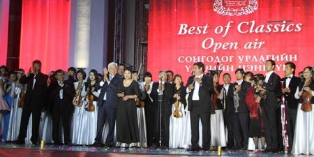 Чингисийн талбайд энэ сарын 4-нд сонгодог урлагийн үдэш болно