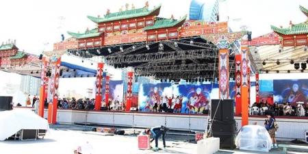 """Өнөөдөр 22 цагаас Чингисийн талбайд """"Учиртай гурван толгой"""" дуурийг тоглоно"""