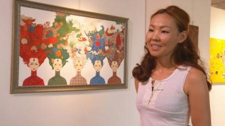 Монголын зураач 20 мянган долларын тэтгэлэг авчээ