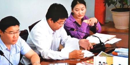 Сүхбаатар аймгийн удирдлагуудтай цахим ярилцлага хийлээ