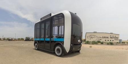 OLLI - 3D-ээр хэвлэсэн ухаалаг автобус