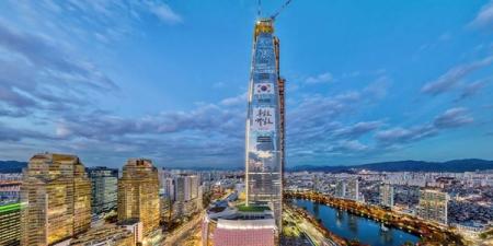 """Дэлхийд өндрөөрөө тавд орох барилга """"Lotte World Tower"""