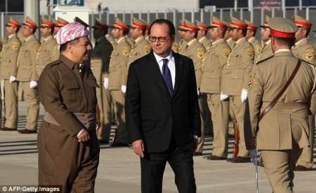 Франсуа Олланд Иракт айлчиллаа