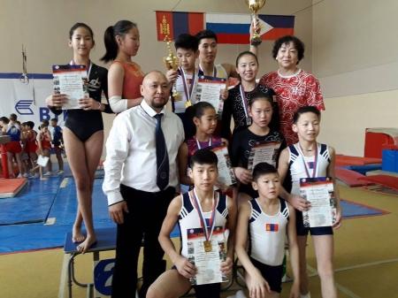 Гимнастикчид ОУ-ын тэмцээнд өндөр амжилт үзүүллээ