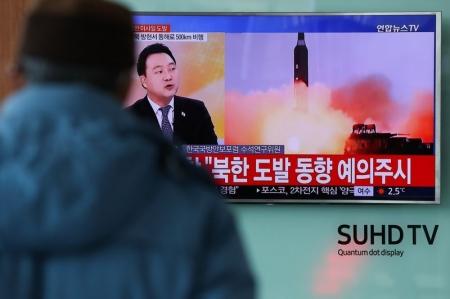 Хойд Солонгос улс баллистик пуужин хөөргөлөө