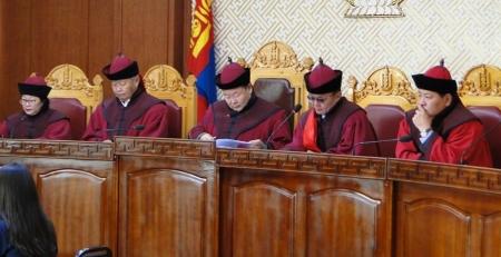 Үндсэн хуулийн цэц хуралдана