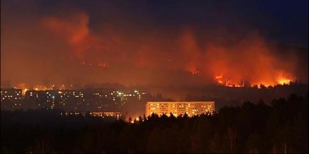 Эрхүү, Буриад, Красноярскад түймэртэй байна