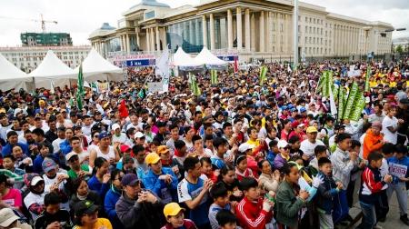 """""""Улаанбаатар марафон""""-д оролцохоор 30 мянган хүн бүртгүүлжээ"""