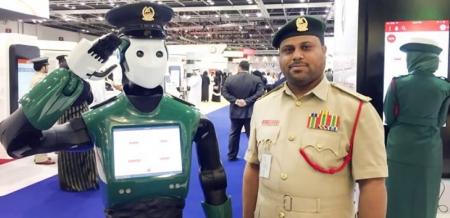 2030 он гэхэд Дубайн цагдаа нарын дөрөвний нэг нь робот болно