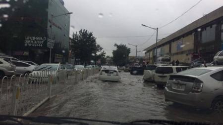 Борооны улмаас зарим дүүрэгт цахилгаан тасарчээ