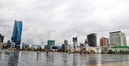 Улаанбаатарт 25 хэм дулаан, бороотой