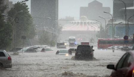 Төвийн аймгуудын нутгаар усархаг бороотой