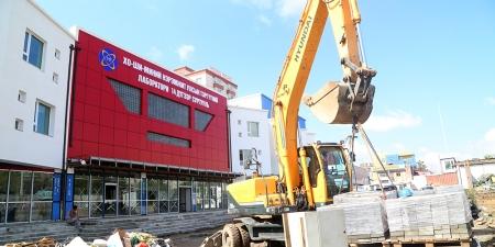 Гурван жил хүлээсэн 14 дүгээр сургуулийн барилга шинэ хичээлийн жилд ашиглалтад орно