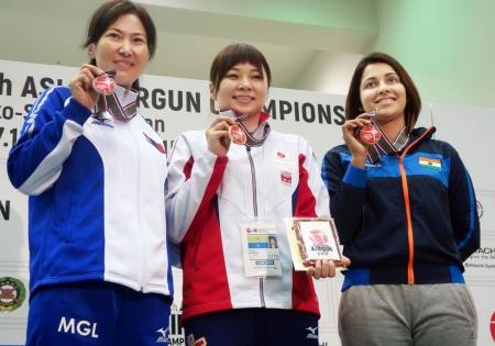 О.Гүндэгмаа Азийн аваргаас мөнгөн медаль хүртлээ