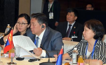 Ази, Номхон далайн орнуудын парламентын чуулган эхэллээ