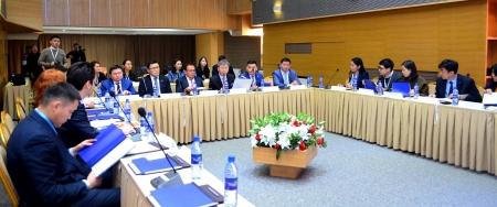 Зүүн Хойд Азийн Эксим банкуудын холбооны Ажлын хэсгийн хурал болж байна
