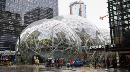 """Халуун орны ойг дууриалган хийсэн """"Амазон""""-ы шинэ оффис"""