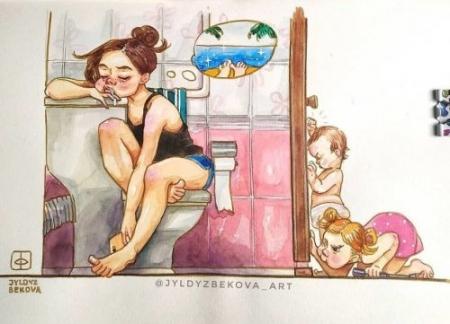 ФОТО: Ээжүүдийн өдөр тутмын амьдрал