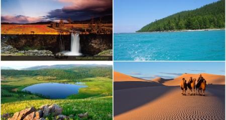 21 аймгийн байгалийн үзэсгэлэнт газрууд