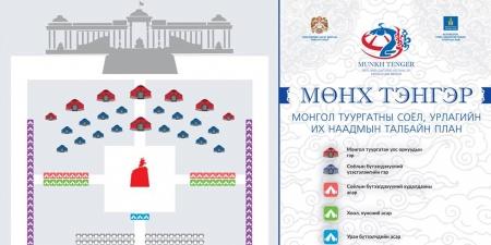 """""""МӨНХ ТЭНГЭР"""" Монгол туургатны соёл, урлагийн их наадам болно"""