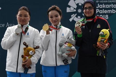 Манай баг тамирчид Азийн наадмаас нийт есөн медаль хүртээд байна