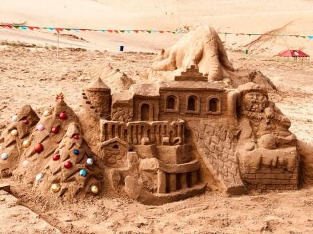 """ФОТО: Хонгорын элсэнд """"Элсэн манхны баяр"""" болж байна"""