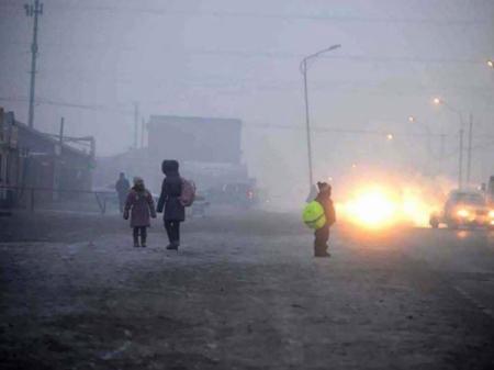 Улаанбаатарт 14-16 хэм хүйтэн