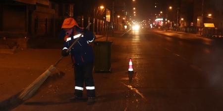 Зам талбайн цэвэрлэгээ үйлчилгээг 05:00 цагаас эхлэн гүйцэтгэж байна