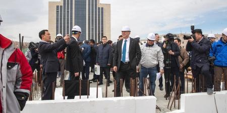 Үндэсний номын сангийн шинэ барилгын ажлыг энэ онд багтаан дуусгахыг Ерөнхий сайд үүрэг болголоо