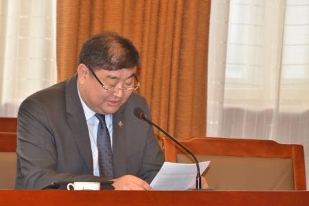 Сайд асан М.Сонопилийг шүүх хурлын тов гарав