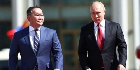 Хоёр улсын ерөнхийлөгч уулзаж байна