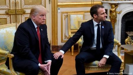 Доналд Трамп, Эммануэл Макрон нар уулзахаар болжээ