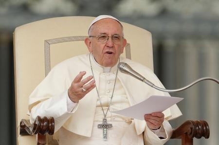 Пап лам улс орнуудыг цөмийн зэвсгээс татгалзахыг уриалав