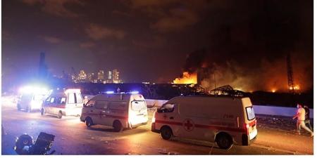 Ливан улсын нийслэл Бейрут хотод хүчтэй дэлбэрэлт болж 78 хүн нас баржээ