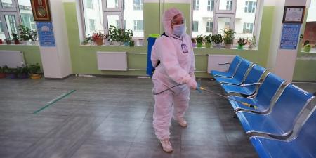 Коронавирусийн голомтод тооцогдсон зарим газрын эцсийн халдваргүйжүүлэлтийг хийжээ