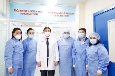 ЭМЯ-аас Сонгинохайрхан дүүрэгт PCR шинжилгээний лабораторийг шинээр байгууллаа