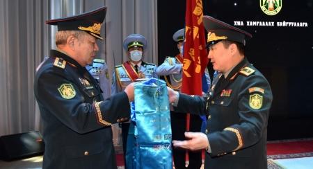 ХХЕГ-ын даргаар томилогдсон бригадын генерал Х.Лхагвасүрэн ажлаа хүлээн авлаа