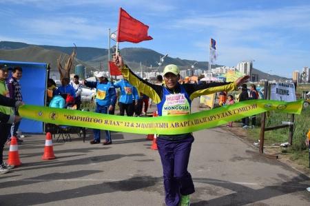 Б.Вандан-Очир: Өнгөрсөн сард болсон олон улсын марафонд Монголын баг түрүүлсэн