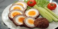 Шотланд маягаар шарж болгосон өндөг буюу Зразыг яаж хийх вэ