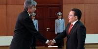 Монгол Улсын Ерөнхийлөгчид Бүгд Найрамдах Бангладеш Ард Улсын Элчин сайд ИЖБ барилаа