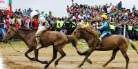Даатгалтай хүүхдүүд хурдан морь унана