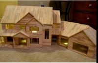 Зайрмагны ишээр мөрөөдлийн байшингаа бүтээжээ /Видео/