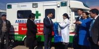Нийслэлийн хамгийн олон хүн амтай хорооны ӨЭМТ-д түргэний машин бэлэглэв