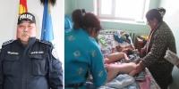 Гурван хүүхдийн амийг аварсан цагдааг шагналаа